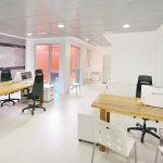 Despacho con parquet en Valencia